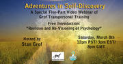 First Session FREE - Webinar Series with Stanislav Grof: Adventures in Self-Discovery