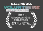 Call for Volunteers for the Pacifica Grad Institute 2016 Film Festival