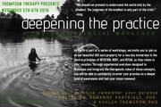 Deepening the Practice • 2 day Intensive for Healers