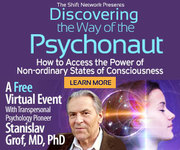 "FREE Saturday!: Encore Presentation of ""Discovering the Way of the Psychonaut"" with Stan Grof, M.D."