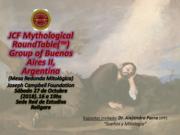 """""""Sueños y Mitología"""" (Dreams and Mythology).-Joseph Campbell Foundation"""