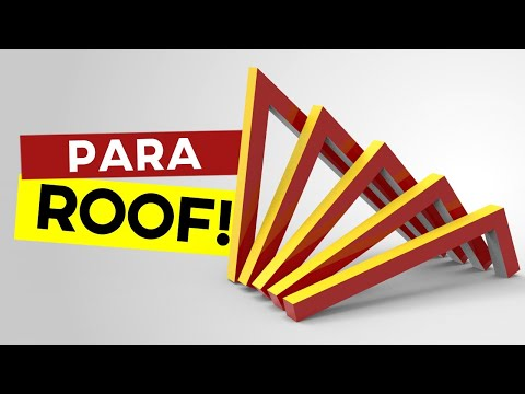 Parametric Roof (Grasshopper Tutorial)