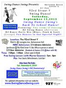 Swing Dance Swing's Back To School Swing Dance!