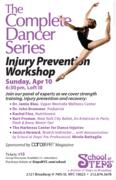Complete Dancer Series Presents Injury Prevention Workshop 2016