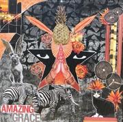 Amazing Grace  mixed medium collage on canvas