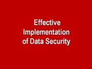 CISO Round Table on ' Effective implementation of DLP and Data Security '