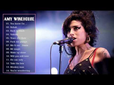 Amy Winehouse Greatest Hits Full Album Live - Best Of Amy Winehouse