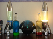 new lunar and bottles