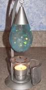 Candle glitter lamp on e-bay