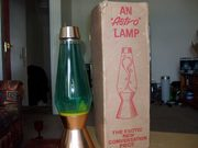 Early Astro lamp with box.
