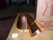 Astro lamp cone base