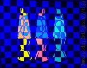 Blacklight Lava Art 2