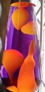 LB orange/violet Grande close up
