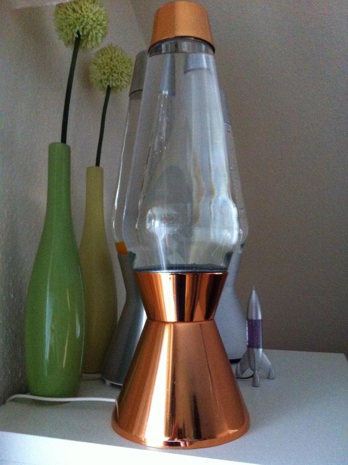 Glitterball copper