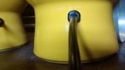 9-Silicone bottom of lamp base-insert into jar-pull back cord and install cord restraint