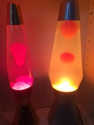 My Crestworth lamps Copper Astro Baby and Alu Astro 3