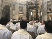 Messa Crismale 2017 con Papa Francesco