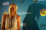 Maria Sharapova - Red Carpet 2009 Sony Ericsson Open