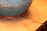 Bridges Pottery Lamp