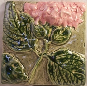 pink Hydrangea cone 6