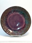 Plate 266 dark brown clay