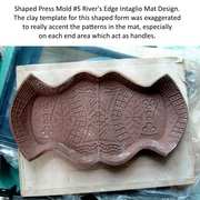 How to use Press Mold Shapes to make trays