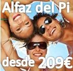 Sexto Encuentro Single en Alfás del Pi (Alicante) 4 Dias 3 Noches con pensión completa, actividades, excursiones desde 209€