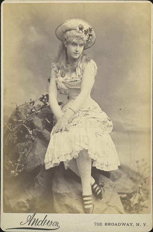 Lillian Russell as Patience.