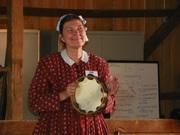 Elaine Masciale a jinglin' and a janglin'.