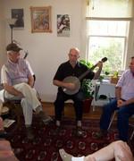 Joe Ayers banjo workshop, North Carolina School of Traditional Music