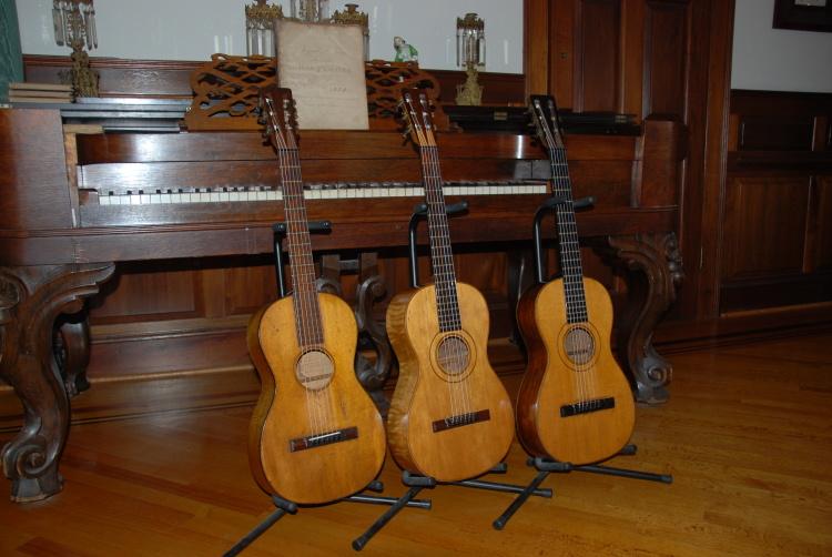 3 Original Ashborn Guitars!