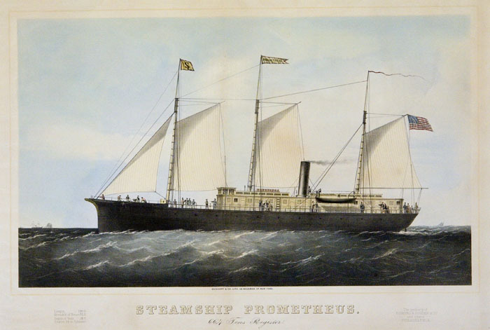 Steamship Prometheus.