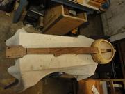 Walnut gourd banjo