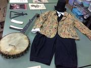 Minstrel costume and Instrumental