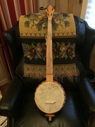 Barry Sholder gourdn banjo