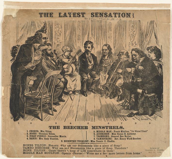 The Beecher Minstrels