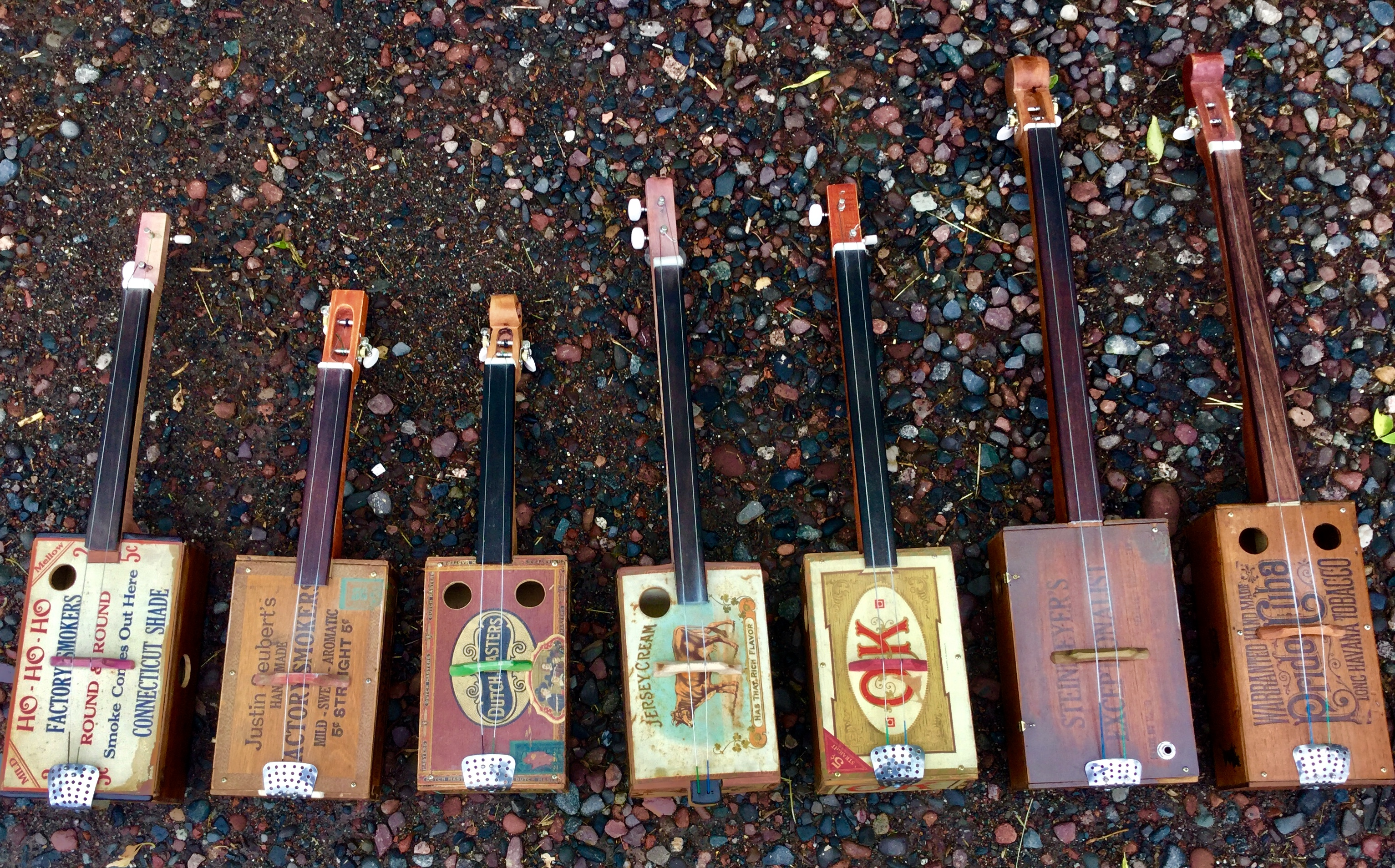 2 string Fiddles