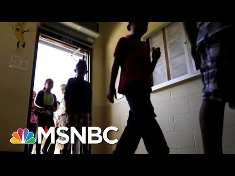 Immigrant Children abused by Trump Administration MSNBC
