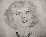 Alice Headshot Drawing