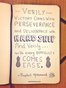 With every hardship comes ease...