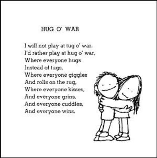 HUG O WAR -shel silverstein