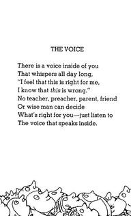 the voice -shel silverstein