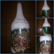 christmas bottle 2