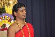 03.1-Nithyananda-morning-Pratyaksha-pada-puja-at-7.30am