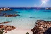 Pink Beach, Sardinien