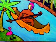 """""""El Rio"""" 18x24/Acrylics"""