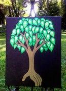 """Roots"" 16x20/Acrylics"