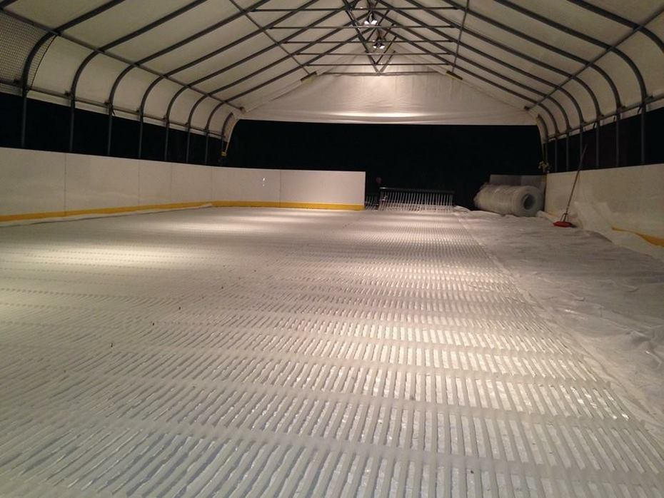 Portable Refrigerated Ice Hockey Rink