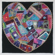 Crazy Heart-Alliance for American Quilts donation