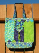 Tote pattern by M'Liss Rae Hawley